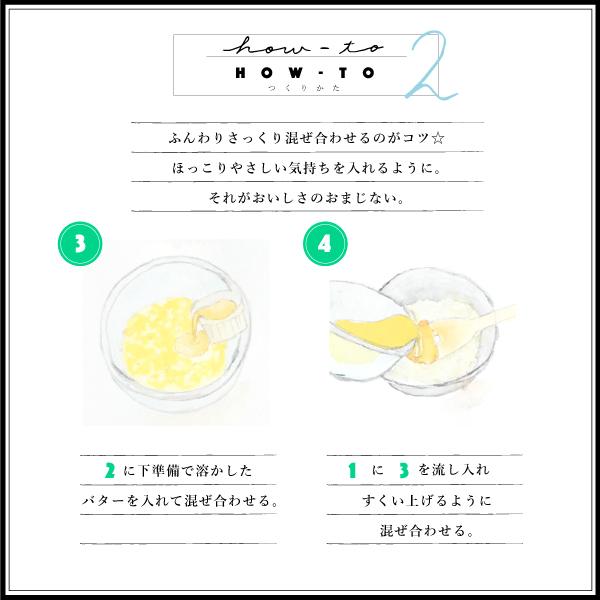 レモンケーキの作り方 ふんわりさっくり おいしさのおまじない 溶かしたバターを入れる