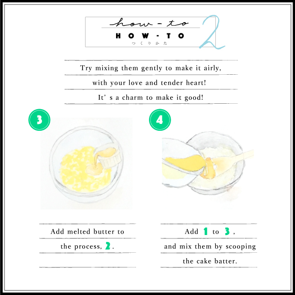 how to for lemon cake mixing them gently charm love and tender heart melted butter cake batter