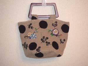ビーズ刺繍,ハンドメイド,バッグ,embroidery,handmade,bag
