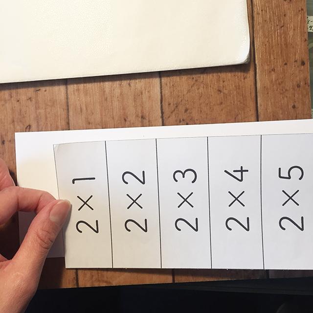 九九カード,ハンドメイド